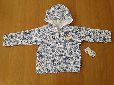 BNWT Baby Girls Hooded Jacket From  Nutmeg Age 6-9 Months