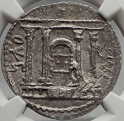 JEWISH BAR KOCHBA Kokhba REVOLT Silver Shekel of Jerusalem Ancient Coin NGC MS