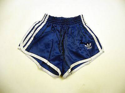 Vintage Adidas shiny nylon Sprinter Shorts glanz sporthose West Germany