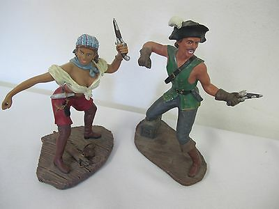 History Of Pirate Buccaneers Figurines 2 1997 Duncan Royale First Editions 1997