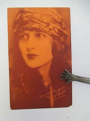 Vintage Exhibit Supply Co. Postcard, actress EVELYN BRENT