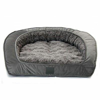 T&S Pet Products Deluxe Portsea Bed Size 2 Lounge Dog Pet Bed Designer Aussie