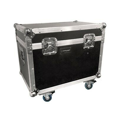 Accu Case - Touring Case Crazy 8 - Flightcase (Dual) [1521000252] Lighting Cases
