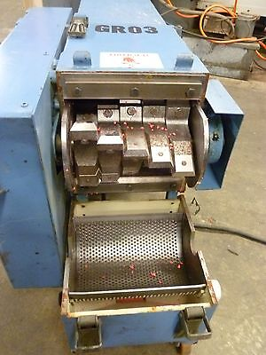 Meltic Model 280 High Speed Plastics Granulator
