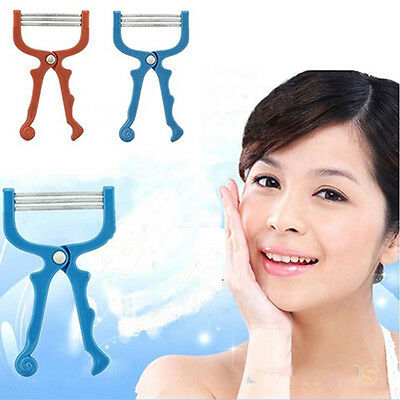 Safe Handheld Face Facial Hair Removal Threading Beauty Tool Epilator Roller