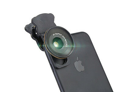 Clip on 20X Optical HD Super Macro Camera Lens For Universal Cell Phone Iphone7