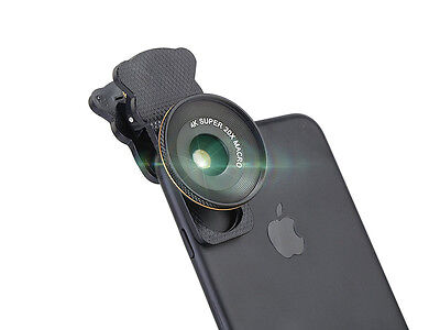 Clip on 20X Optical Zoom HD Telescope Camera Lens For Universal Mobile Phone