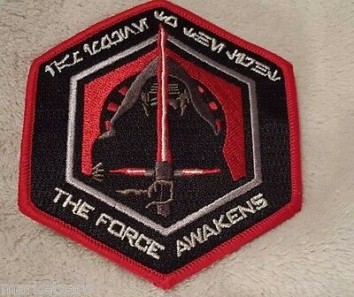Star Wars First Order The Force Awakens Patch Kylo Ren Sith Celebration