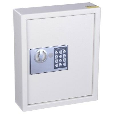 48 Key Cabinet Digital Electronic Steel Security Safe Office Home Money INCD VAT