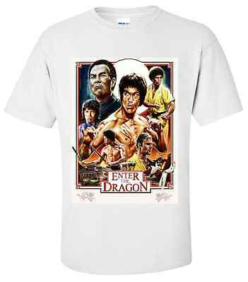 BRUCE LEE ENTER THE DRAGON T-Shirt Sizes SMALL, MEDIUM,LARGE,XL