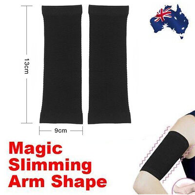 2X Comfortable Arm Shaper Fat Buster Slimming Wrap Belt Band Weight Lose Thigh