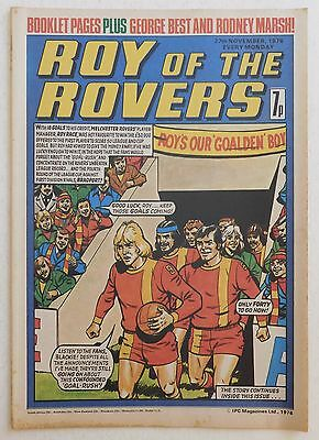 ROY OF THE ROVERS Comic - 27th November 1976