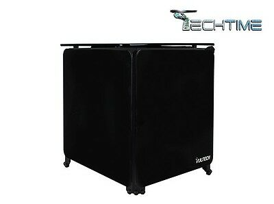 Case Mini Atx Vultech Cube-X1N Black No Alimentatore Gaming