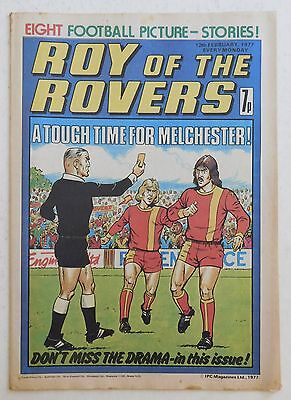 ROY OF THE ROVERS Comic - 12th February 1977