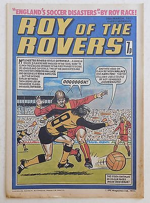 ROY OF THE ROVERS Comic - 26th March 1977