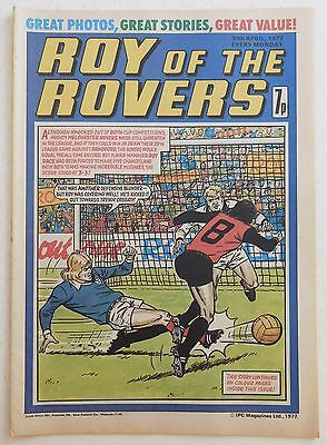 ROY OF THE ROVERS Comic - 30th April 1977