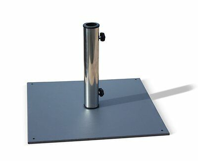 Grey Patio Garden Outdoor Parasol Base - 10kg 13kg 20kg - Heavy Umbrella Stand