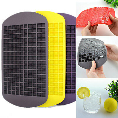 Silicone 15/160 Ice Cubes Tray Freeze Mould Jelly Pudding Chocolate Mold Maker