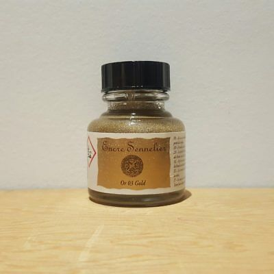 Sennelier 30ml Gold 16 Encre Drawing Ink