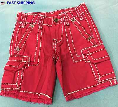 True Religion - Kids Casual Short Jeans Sizes 2T to 5T