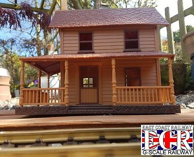 NEW G SCALE 45mm GAUGE STATION LODGE NEWRAY BUILDING RAILWAY TRAIN 1:30 SCALE