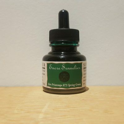 Sennelier 30ml Spring Green 873 Encre Drawing Ink