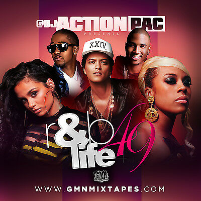 Dj Action Pac- R&b Life 49 (Mix Cd) Kehlani, Bruno Mars, Beyonce & Jay Z, Drake