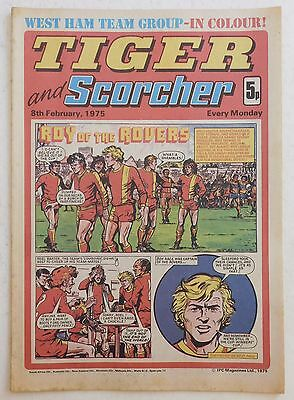 TIGER & SCORCHER Comic - 8th February 1975