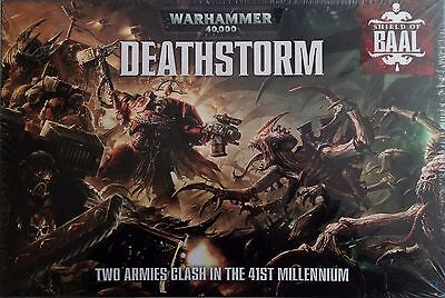 Warhammer Deathstorm - Shield of Baal FACTORY SEALED Games Workshop NEW OOP