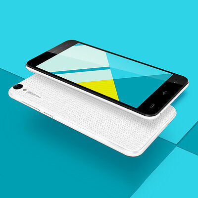 """HOMTOM HT16 5.0"""" Smartphone 3G Android 6.0 Handy Quad Core MTK6580 8GB ROM HY"""