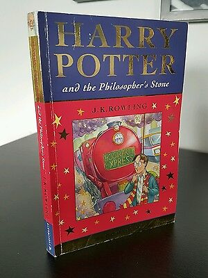 ☆☆☆Harry Potter and the Philosopher's Stone 2001 1st Edition Paperback Book ☆☆☆