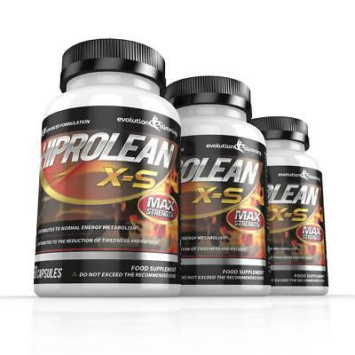 Hiprolean XS Strong Weight Loss Pills Fat Burner 180 Capsules Evolution Slimming