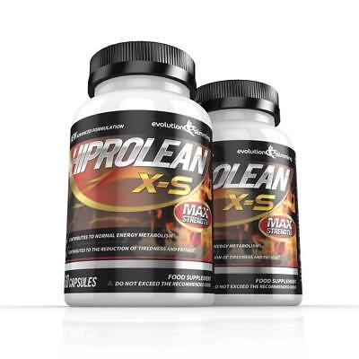 Hiprolean XS Strong Weight Loss Pills Fat Burner 120 Capsules Evolution Slimming