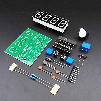 Quality 4 Bits Digital New Arrival DIY Kits Clock Suite Electronic C51