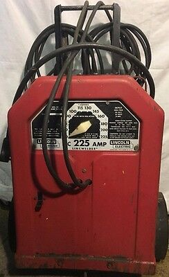 Lincoln Electric ARC WELDER 225 Amp Variable Voltage Industrial AC-225-S