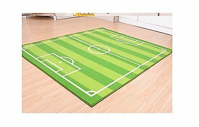 FUNS Soccer Field Ground Room Carpet Mat Kids Area Play Rug 5... (2Day Delivery)