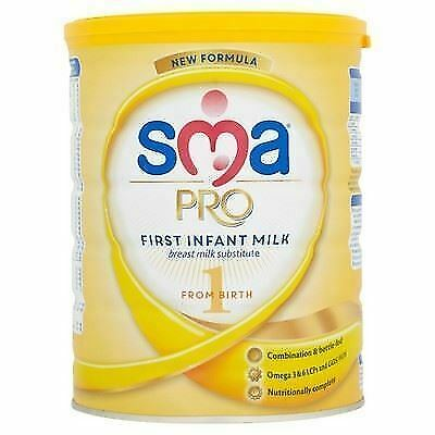 SMA PRO First Infant Milk 1 from Birth 800g 1 2 3 6 Packs