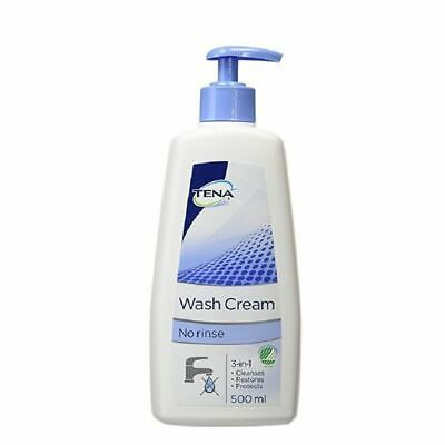 Tena Wash Cream 500ml 1 2 3 6 Packs