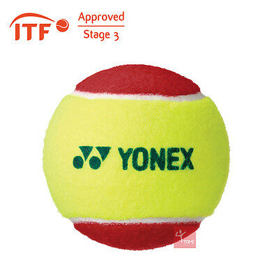 Yonex Muscle Power 20 Red Stage 3 Tennis Balls