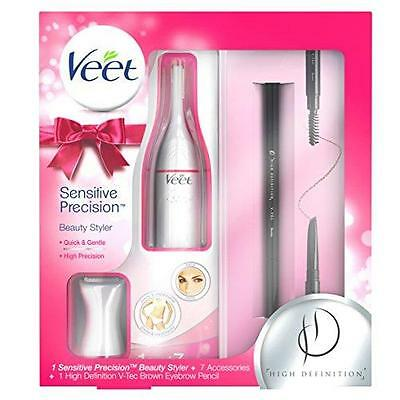 Veet Sensitive Precision Beauty Styler Gift Pack Gentle Trimming &Precise Shapin
