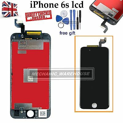 """For iPhone 6S 4.7"""" Retina LCD Display Digitizer Touch Screen Assembly Black UK"""