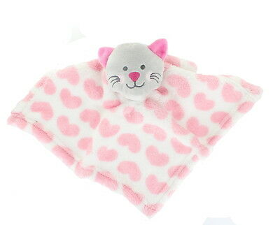 Baby Newborn Plush Animal Super Soft Comforter Blanket - Cat