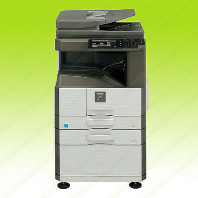 Sharp MX 266N Monochrome Tabloid-size Printer Copier Scanner Network USB 26PPM