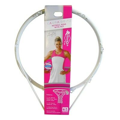 NEW Laura Geitz Netball Ring and Net Set   from Rebel Sport