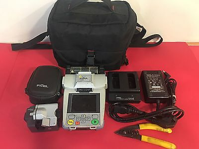 FITEL S122C Fusion Splicer with S325A Cleaver Total Arc 7661 S122