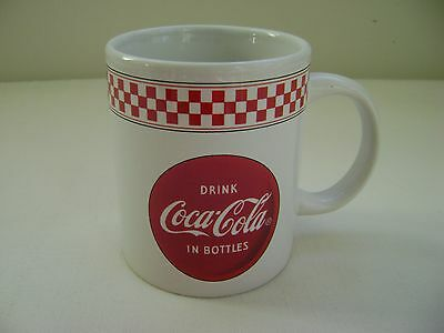 """DRINK COCA-COLA IN BOTTLES"" Mug by Gibson"
