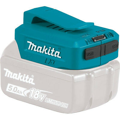 18V LXT Li-Ion Cordless Power Source, Power Source Only Makita ADP05 New