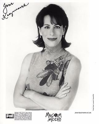 **jane Kaczmarek Signed 8X10 Photo Authentic Autograph Malcolm In The Middle**