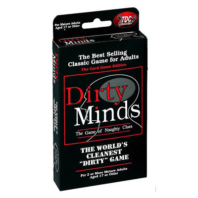 Dirty Minds Travel Card Game NEW