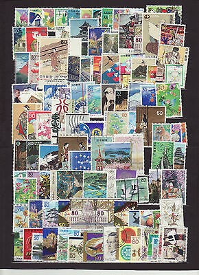 100 Japan different stamps collection NICE LOT (22)